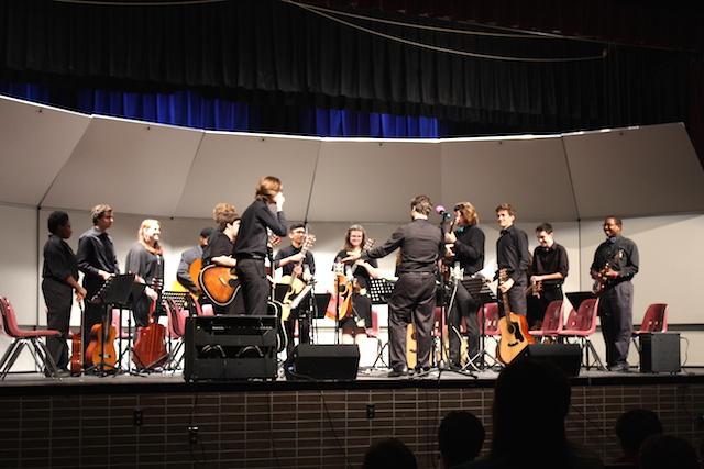Menchville's Spring Guitar Concert