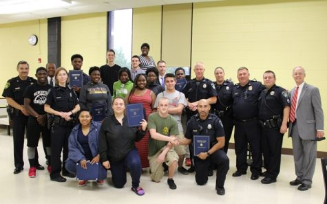 Menchville's Criminal Justice Club Recognized by NNPD