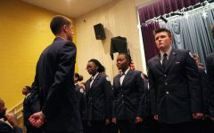 Menchville Air Force JROTC First Stripe Day