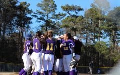 Menchville Softball and Baseball Play First Peninsula District Game Against Woodside
