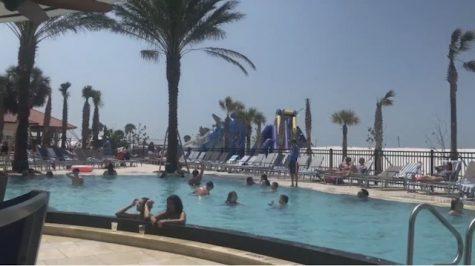 Spring Break in Clearwater Beach, Florida