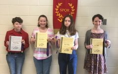 Victoria! Four Latin I Students Win Medals in the National Latin Exam