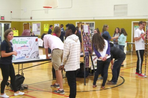 Honors Biology presents research findings