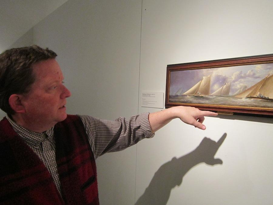 Chief Curator Lyles Forbes points out details to look for in a Buttersworth, using his personal favorite painting as an example.
