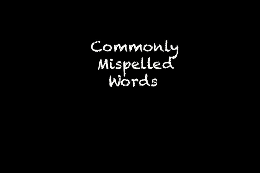 Top 20 Most Misspelled Words