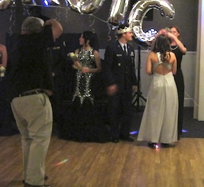 The Military Ball Queen Elizabeth Perez Being Crowned After King Joshua Finney