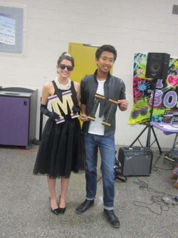 Haley Brandt and Brandon Franklin win superlatives for Best Dressed