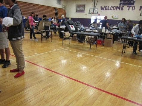 The Hectic Scene of an MHS Blood Drive
