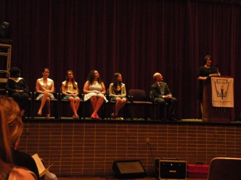 Current members of NHS each prepared a short speech on the characteristics of NHS members
