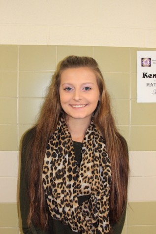 "Allie Hoebeke, Reporter- ""My goal for SCA is to make the best homecoming ever!"""