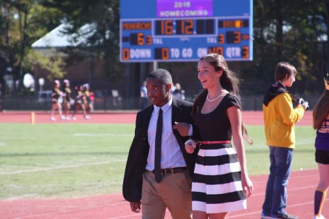 Sophomore Homecoming Court- Sydney Blowe and Darin Cooper
