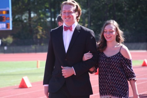 Senior Homecoming Court- Zac Aldridge and Madison Struble
