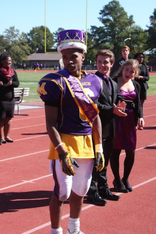 Homecoming King 2015- Malik Dixon