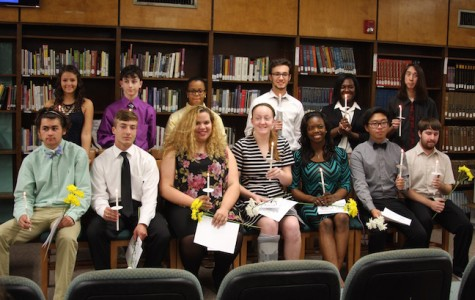 National Honor Society Inductions 2015