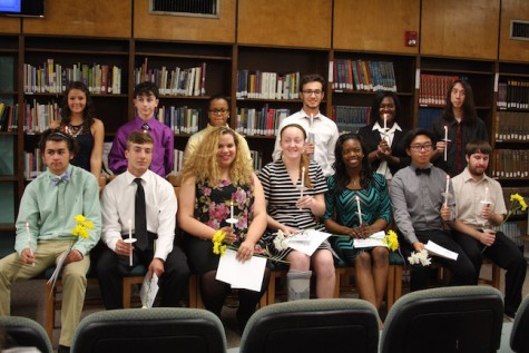 Menchville's 2015 Honor Society Inductees and newest members of the National Honor Society.