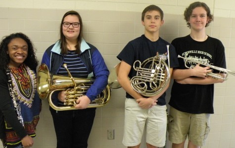 Four MHS Band members make All Virginia Band and Orchestra!