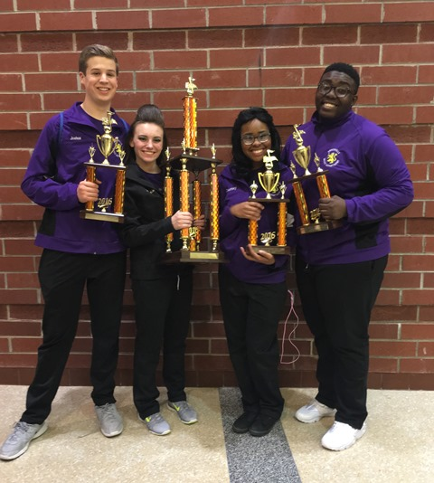 Dance and Vocal Captains: Josh Jones, Madison Struble, Courtney Marble, Bra'zon Fields