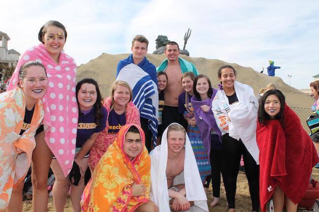 Menchville Takes on the Polar Plunge 2016
