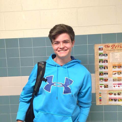 Freshman Sam Cornette