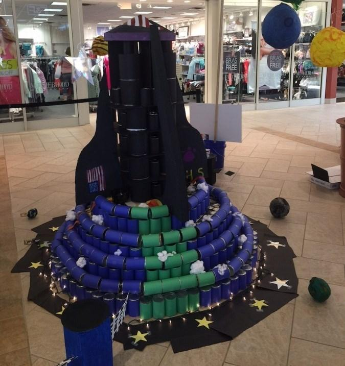 Menchville%27s+2015+Canstruction+Entry