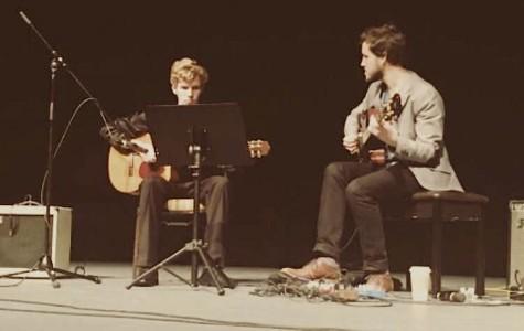 Noah Nipp Performs with Jazz Guitarist at CNU Guitar Festival