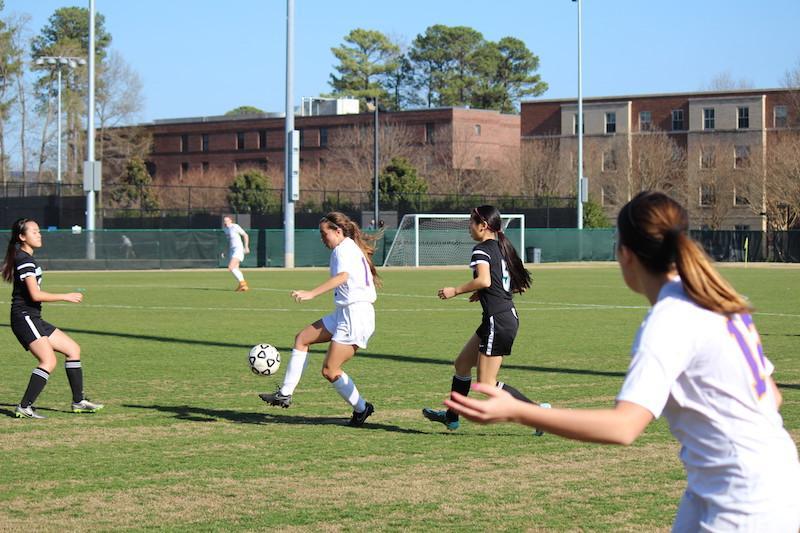 Menchville+Varsity+Soccer+Wins+Against+Woodside
