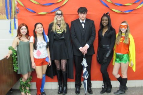 "Alex Rivera, Jaime Dunlap, Bonnie Nicholson, Harrison Huffman, Camille Buckle, Laura Ray as ""Batman"""