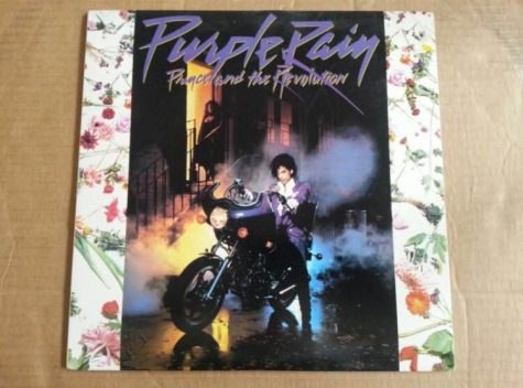 "Princes Album ""Purple Rain."""