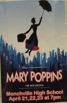 Menchville's Mary Poppins