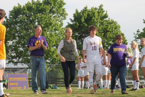 Senior Daniel Deanhofer was escorted by his parents and sister. Daniel plans to attend Thomas Nelson Community College in the fall.
