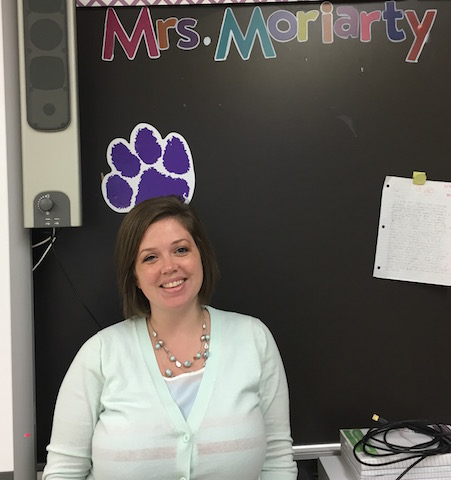 Mrs.Moriarty in her room