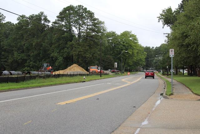 Menchville Road Construction