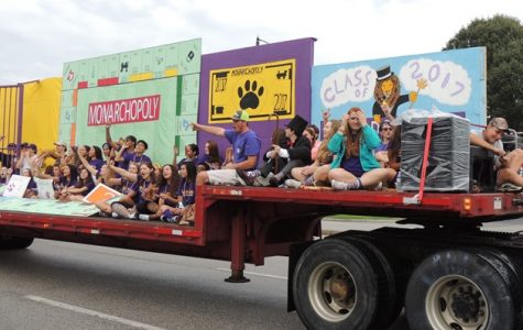 The class of 2017 showed off a winning Homecoming float in 2016. What will this year bring?