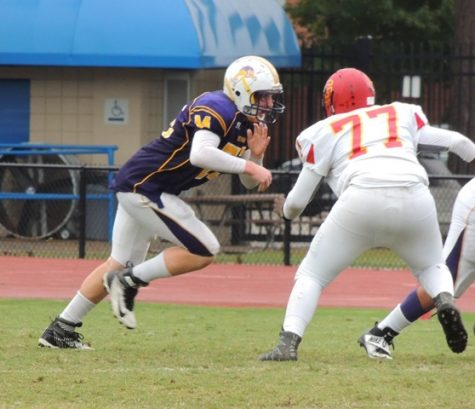 Menchville Varsity Football Team Wins First Game the Last Game of the Season