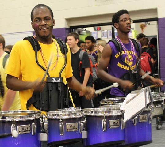 Menchville's Drum Line