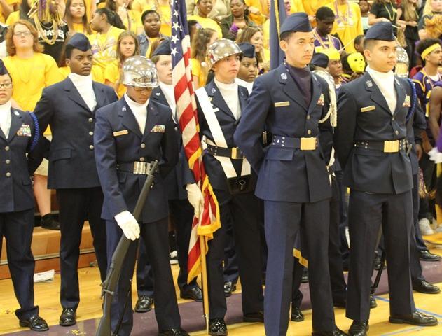 Menchville's Color Guard