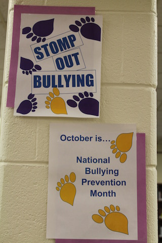 National Bullying Prevention Month Activities at Menchville