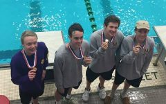 Menchville Swim Team Captures 4th Place at State Championships
