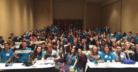 Menchville Students Attend Model UN Conference