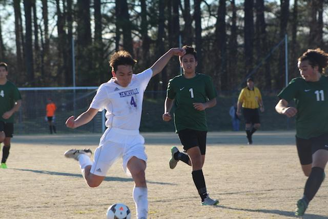 Jahvin Purnell #4 scored the first goal.
