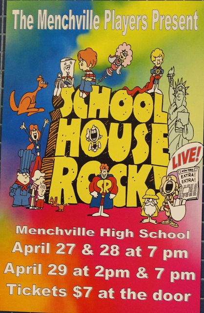 Menchville+Drama+Presents+%22School+House+Rock%22
