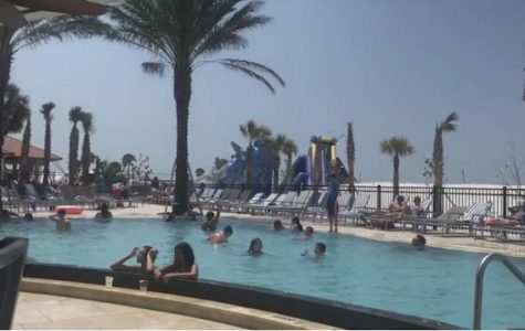 Spring Break in Clearwater Beach, Florida