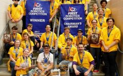 Triple Helix Finishes Robotics Season Strong at FIRST National Championship