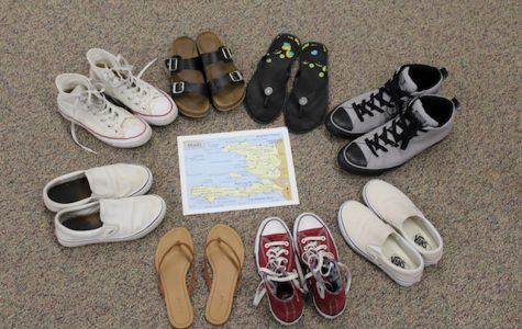 Art Teacher Hosts Shoe Drive For Haiti