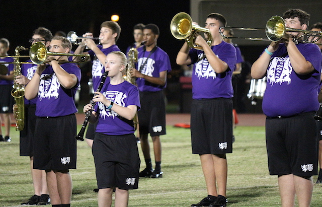 The Menchville Marching Monarchs perform the well-known piece by Holst.