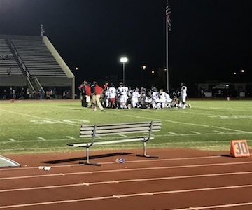 Varsity Football Monarchs Earn Their Second Win of The Season