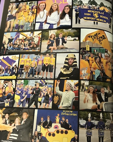 Circa 2015, Freshmen, Sophomore, Junior and Seniors all showing off their Monarch pride at the Homecoming Parade!