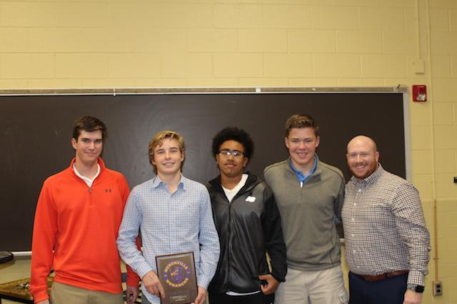 Fall Sports Team of the Year: Boys Golf