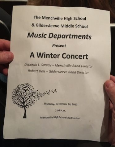 Menchville and Gildersleeve Band Concert