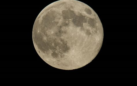 A bigger and brighter moon this weekend.